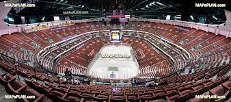 Anaheim Pond Seating Chart Honda Center View From Section 422 Row R Seat 10