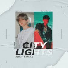 City Lights Poster Baekhyun