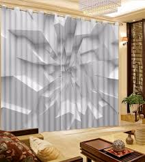 White And Black Curtains For Living Room Popular White Blackout Curtains Buy Cheap White Blackout Curtains