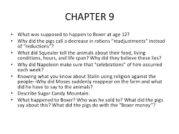 animal farm chapter questions 5