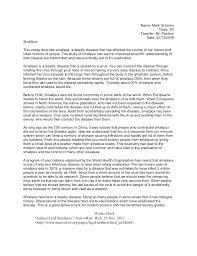 8th Grade Essay Examples Example Informative Essay Dew Drops