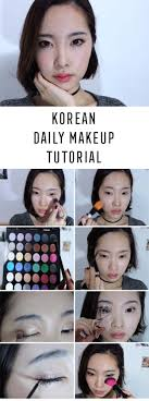best korean makeup tutorials eng my everyday makeup tutorial korean daily makeup 데일리메이크업 natural step by step tutorials for ulzzang pony