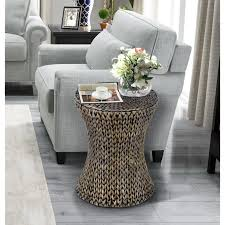 Gallerie Decor Hourglass Accent Table - Free Shipping Today - Overstock.com  - 18651792