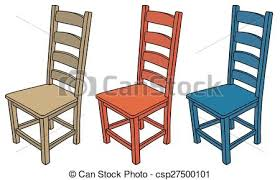 wooden chair clipart. Brilliant Wooden Wooden Chairs  Csp27500101 And Chair Clipart G
