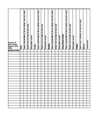 Behavior Tally Chart Printable Behavior Tally Sheet Worksheets Teaching Resources Tpt