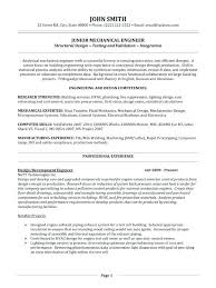 Mechanical Engineer Sample Resume Engineer Resume Writing Tips ...