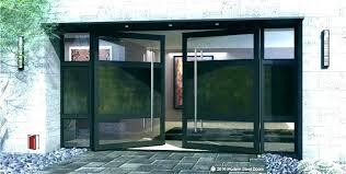all glass front door cozy modern glass entry doors metal and front door canopy d leaded