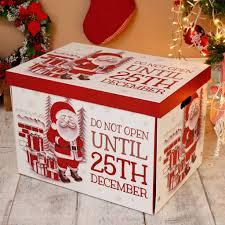 Personalised Do Not Open Til 25th December Box