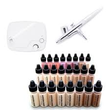 the aeroblend pro airbrush makeup kit will get you started airbrushing any skin tone asap it conns all the equipment you need to get started