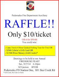 wow what a raffle pedernales fire department auxiliary raffle poster border