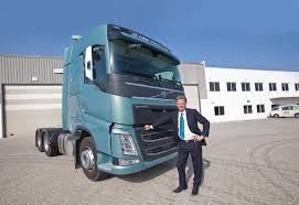 2018 volvo fh. exellent volvo larserik forsbergh poses with one of the latestgeneration volvo fh trucks  outside swedish manufactureru0027s central distribution centre  cdc  intended 2018 volvo fh