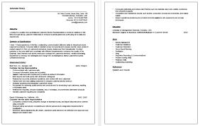 Customer Service Resumes Examples Free Custom Objective Of Resume Resume Badak