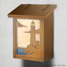vertical wall mount mailbox. Modren Mailbox Lighthouse Vertical Wall Mount Mailbox And I