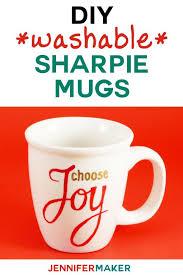 Cute funny diy coffee mug designs ideas try Glitter Sharpie Mug Diy Instructions My Dishwashersafe Sharpie Mug Ideas And Designs Make Great The Best Ideas For Kids Diy Sharpie Mugs For Easy Personalized Gifts Jennifer Maker