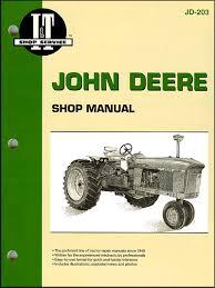 john deere tractor repair manual by clymer