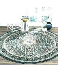8 ft round area rugs round rugs 8 foot ft dark blue x villa rug runners