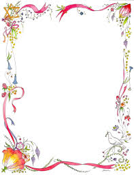 New Design Floral Page Border Designs Wordpress Templates Blogger New Page