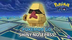 Pokemon Go: How To Catch Shiny Nosepass