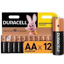 <b>Батарейки DURACELL</b> BASIC <b>АА</b>/<b>LR6</b>-12BL