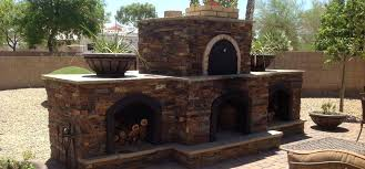 outdoor fireplace kits with pizza oven decoration rustic outdoor stone fireplace pizza oven patio design ideas