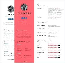 Interactive Resume Templates Free Download Best of Adobe Resume Template Free Clean Interactive For Girls Templates Pdf