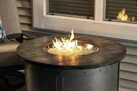 awesome gas fire pits pit home depot canada round table