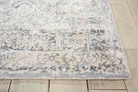 the truth about kathy ireland rugs nourison ki26 desert skies dsk04 blue rug