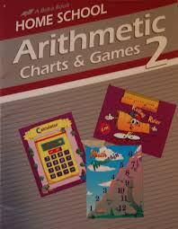 Arithmetic Charts Games 2 75477002 A Beka Book Amazon