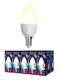 """Набор из 10 <b>светодиодных</b> лампочек """"свеча"""", свет теплый, <b>7 Вт</b> ..."""