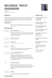 Waitress Cover Letter Resume Sample Job Application Chef Example ...