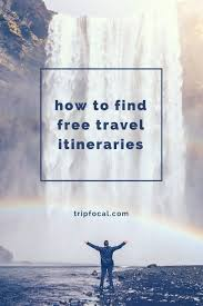 Free Travel Planner Travel Planning Made Super Easy Use Tripfocal For Free Access To