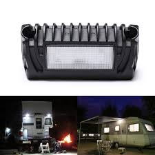 Awning Lights Us 16 99 35 Off Mictuning New Rv Exterior Led Porch Utility Light 12v 750 Lumen Awning Lights Replacement Lighting For Rvs Trailers Campers In Rv