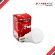 Đèn LED Bulb MAXBEN 9W-ánh sáng vàng - DULED