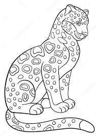 Cute Animals Kleurplaat
