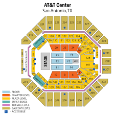 San Antonio Rodeo Tickets Seating Chart 29 Surprising Att Center Seating