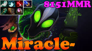 dota 2 miracle 8151mmr top 1 mmr in the world plays rubick