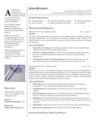 Architecture Resume Templates Free For Download Architectural Resume