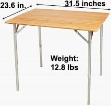 what is the best folding camping table