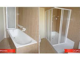 Vasche Da Bagno Con Doccia : Rifacimento vasca da bagno foto a