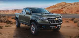 Chevy Colorado ZR2 Concept Packs A Diesel Punch - Gas 2