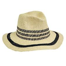 FEDORA - WOMENS W/ POP COLOR STRIPES (PBF7311) San Diego Hat Company