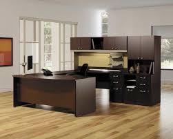 best flooring for home office. Modular Desks Home Office : Modern Dark Brown Desk And Shelf Complete With Black Swivel Best Flooring For