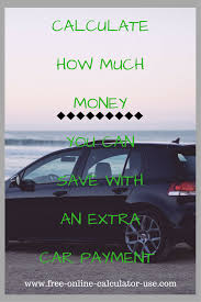 Auto Loan Payoff Calculator Extra Payments Auto Loan Payoff Calculator For Calculating Early Payoff Savings