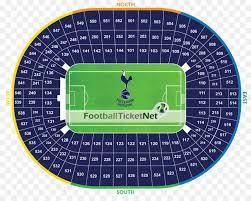 Spurs Stadium Seating Chart London Cartoon