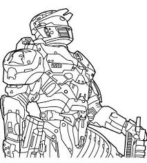 Small Picture Sweet Looking Halo Color Pages Halo Coloring Pages Characters
