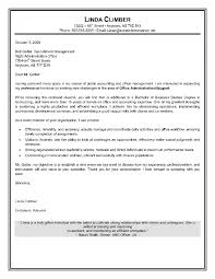 Entry Level Administrative Assistant Cover Letter Examples Office
