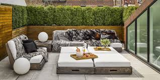 Patio ideas Diy Elle Decor 40 Best Small Patio Ideas Small Patio Furniture Design