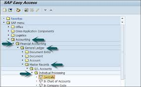 Display Chart Of Accounts In Sap Tcode Sap Fi Deleting G L Accounts Tutorialspoint