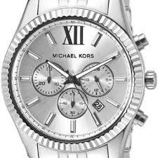shop michael kors lexington watch on wanelo michael kors men s lexington silver tone watch mk