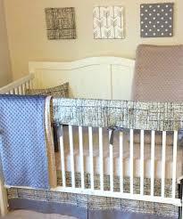 navy crib bedding blue set deer woodland canada